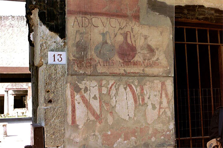 An Ancient Notice Announcing Wine for Sale8