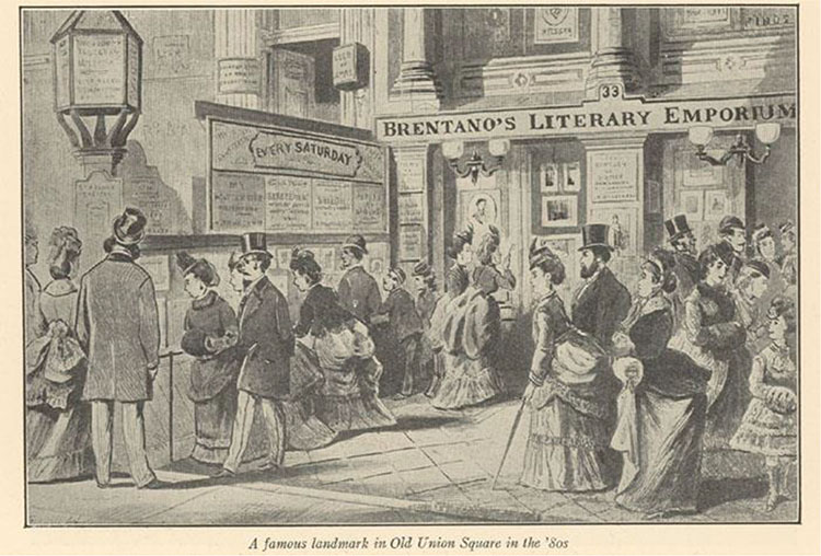 Advertising in Public Spaces, New York City, 1880s12