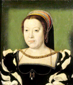 Fig. 14. Portrait of Catherine de Medici, by Claude Corneille de Lyon, (c. 1536)