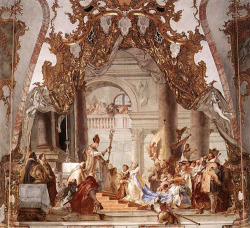 Fig. 15. Marriage of Fredrick I Barbarossa by Giambattista Tiepolo, (1696–1770)