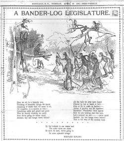 Figure 2. The white minority's portrayal of the native-led 1901 legislature—ten days in. Hawaiian Gazette 30 April 1901.