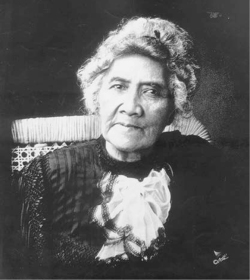 Figure 1. Lili'uokalani in old age, No Date.<br/><br/>Courtesy Hawai'i State Archives.