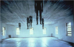 Figure 1. Antony Gormley, Learning to Think, 1991.<br/><br/>Photo: John McWilliams. Courtesy Spoleto Festival USA, Charleston, South Carolina.