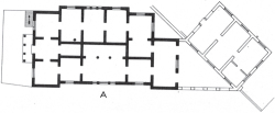 Fig 1. Plan of museum (1874) and annex (1888). From .