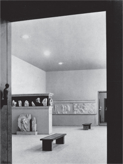 Fig 5. View of Gallery VIII in Old Acropolis Museum. From .