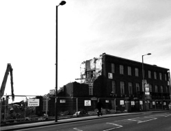 "Figure 8. ""So farewell, then, British Library newspaper archive Colindale,"" March 27, 2015, photo by Clare Newsome, Twitter, ."