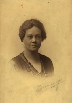 Fig. 1. Photograph of Alice Dunbar-Nelson. Date unknown. 113, Alice Dunbar-Nelson Papers. Special Collections, University of Delaware Library. Used courtesy of Special Collections, University of Delaware Library, Newark.