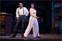 Figure 2. Brandon Victor Dixon and Audra McDonald as Eubie Blake and Lottie Gee in Shuffle Along, or The Making of the Musical Sensation of 1921 and All That Followed.