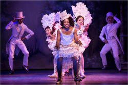 "Figure 4. Adrienne Warren and company perform ""I'm Just Wild about Harry,"" in Shuffle Along, or The Making of the Musical Sensation of 1921 and All That Followed."