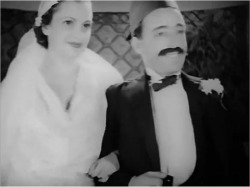 Figure 3. Esther and Chalom celebrate their wedding. Screenshot, Mistreated by Affluence (1937).
