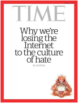 Fig. 45. Time Magazine on Harassment and Hate in the World of Social Media