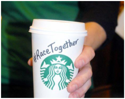 Fig. 46. Starbuck's #RaceTogether Social Media Campaign