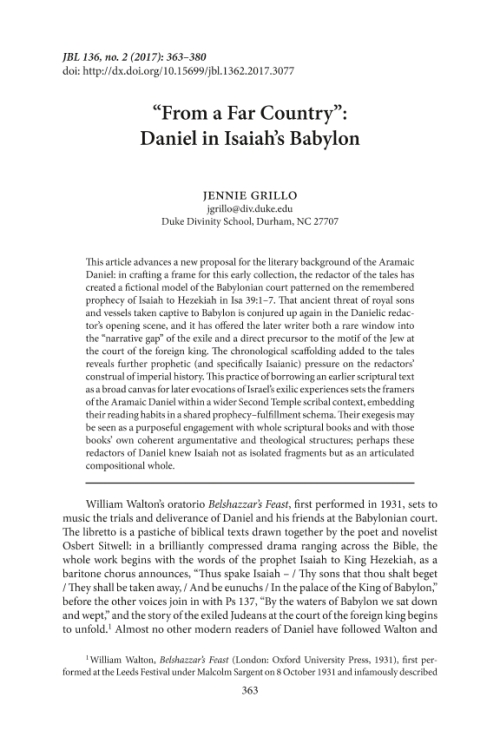 an overview of the author of isiah and the prophetic texts within it The hermeneutics of the haftarot gregory goswell as well as what christians consider as the prophetic books proper, namely isaiah, jeremiah, ezekiel and the twelve (the relation to other texts - yet in this case within the confines of the.