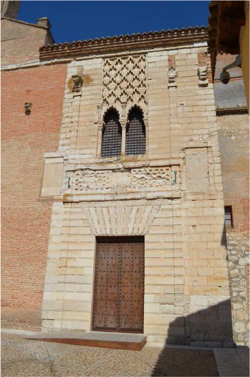 Fig 2. - Façade of the palace of Tordesillas (Photo: author)