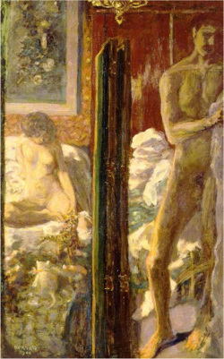 Figure 4. Pierre Bonnard, Man and woman, 1900, oil on canvas, 115 × 72.5 cm. Courtesy Musée d'Orsay, Paris