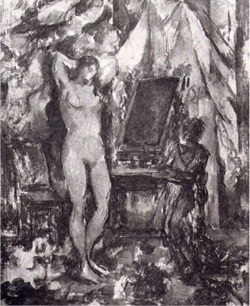 Figure 6. Paul Cézanne, Interior with Nude, c. 1885–90. Courtesy the Barnes Foundation, Philadelphia