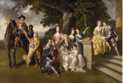 Figure 1. Johann Zoffany, Sir William Young and his family, oil painting Liverpool, Walker Art Gallery
