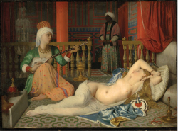 Figure 4. Jean-Auguste-Dominique Ingres, Odalisque with Slave, oil on canvas, 1839, Cambridge, Fogg Art Museum.