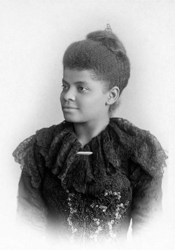Fig. 5. Ida B. Wells, World's Columbian Exposition, 1893, by Marry Garrity, restored by Adam Cuerden, Wikimedia Commons.