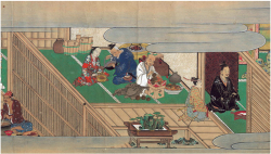 Plate 12. Antechamber and inner courtyard at Nakanari' s residence. Courtesy of Bibliothèque nationale de France.