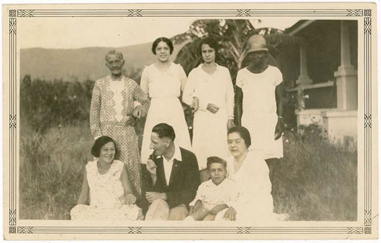 Figure 2. Family Photograph Kingston Jamaica, Photographer Unknown, c.1920s.