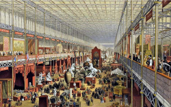 Figure 4. The interior of the Crystal Palace