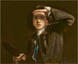 Figure 1. Joshua Reynolds, Self-portrait shading his eyes, 1748–9, National Portrait Gallery, London, De Agostini Picture Library, Bridgeman Images.