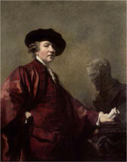 Figure 2. Joshua Reynolds, Self-Portrait, c. 1779–80, oil on panel, Royal Academy of Arts, London, Bridgeman Images.