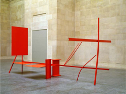 Figure 2. Anthony Caro, Early One Morning, 1962, steel and aluminium, painted red, 290 × 620 × 333 cm. Collection of Tate. Photo: John Riddy. Image courtesy of Barford Sculptures Ltd