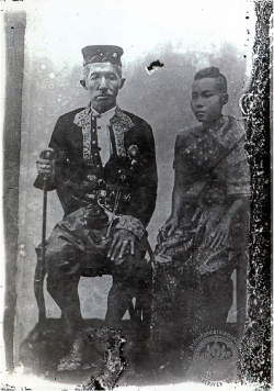 Figure 1b. King Mongkut and Queen Debsirindra, 1860. Courtesy of National Archives of Thailand.