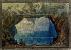 Figure 2. Set design for Grotto, Johann Karl Jakob Gerst, Undine, die Wassernymphe (Franz Schmidt), Berlin, 1836. Tempera. TWS G30121b.