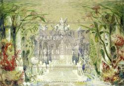 Figure 4. Transformation to the underwater crystal palace, Franz Angelo Rottonara, Undine (Albert Lorzing), Kaiserfestpiele, Wiesbaden, 1899. Tempera TWS G4068.