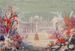 Figure 5. Underwater palace, Julius Mühldorfer (atelier), Undine (Albert Lorzing), Kiel/Bremen, 1904. Tempera. TWS G2010/245/1.