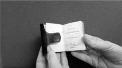 Fig 1. William Mason, The Believer's Pocket Companion (London: James Nisbet, 1830), Mc-Gehee Miniature Book Collection, Albert and Shirley Small Special Collections Library, University of Virginia.
