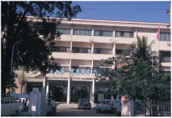 Figure 4. Photo of Lane Xang hotel, 1970. Image: Joel M. Halpern Laotian Slide Collection, library of University Wisconsin-Madison.