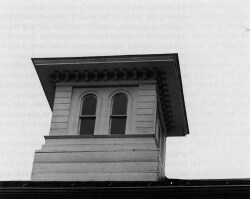Figure 12. Exterior view of the Homestead cupola, built in the shape of a lantern. Photograph by Frank Ward.