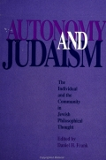 Autonomy and Judaism Cover