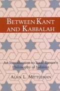 Between Kant and Kabbalah cover