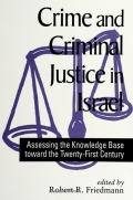 Crime and Criminal Justice in Israel Cover