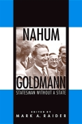 Nahum Goldmann Cover