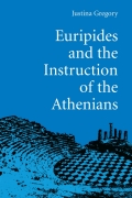 Euripides and the Instruction of the Athenians Cover