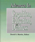 Advances in Cognition, Education, and Deafness Cover