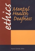 Ethics in Mental Health and Deafness Cover