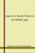Aspects of Jewish Culture in the Middle Ages Cover