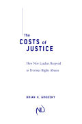 The Costs of Justice Cover