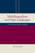 Multilingualism and Sign Languages Cover