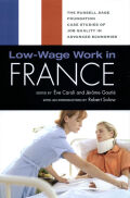 Low-Wage Work in France cover