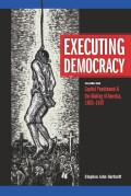 Executing democracy  Cover