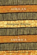 African Immigrant Religions in America Cover