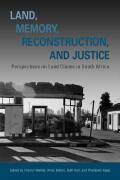 Land, Memory, Reconstruction, and Justice Cover